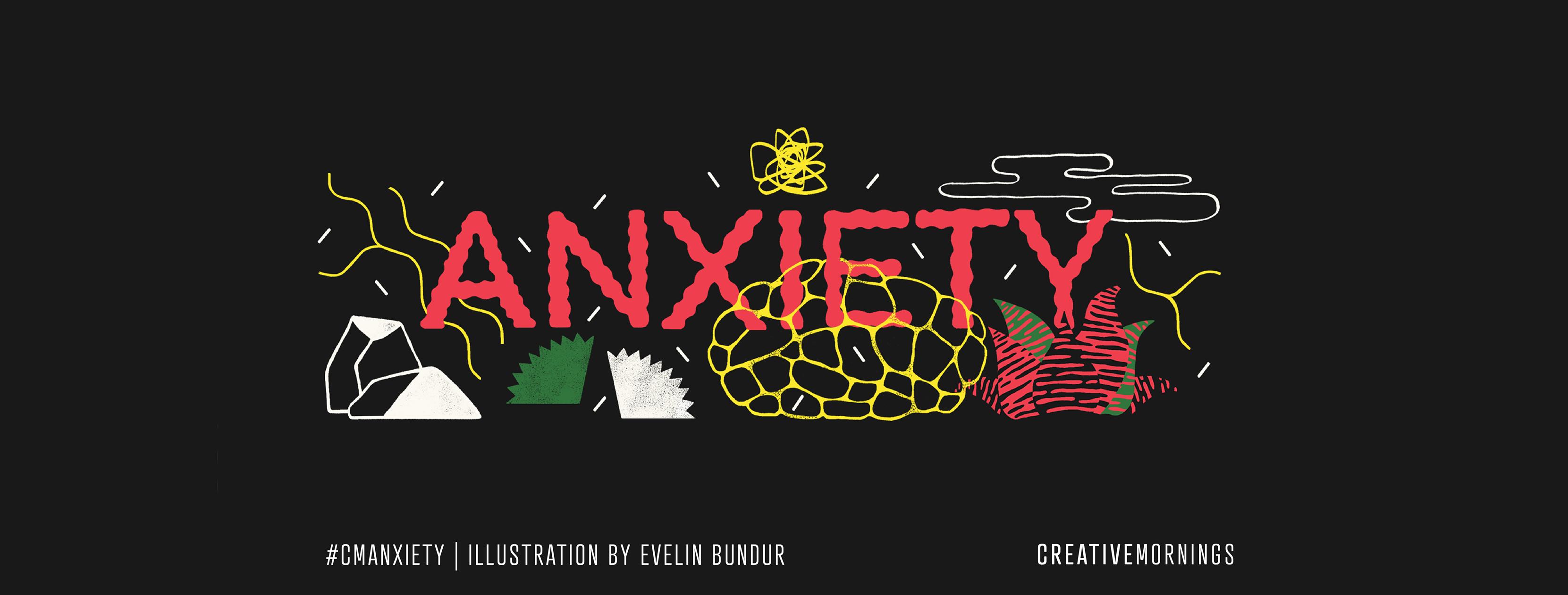 C'est la 6e édition des CreativeMornings Lyon avec pour theme se mois ci : ANXIETY